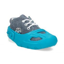 Návleky proti okopániu obuvi modré