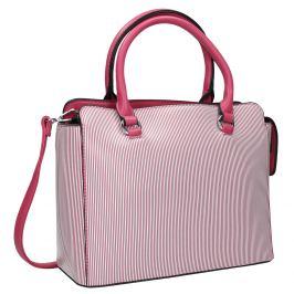 Pruhovaná dámska kabelka