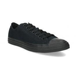 Čierne pánske textilné tenisky