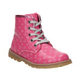 Ružová členková obuv