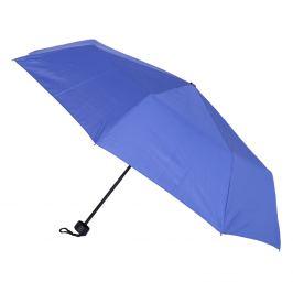 Skladací modrý dáždnik