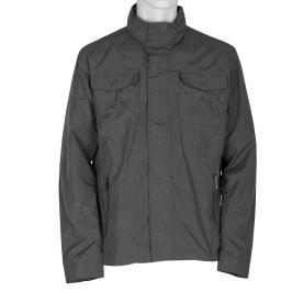 Pánska textilná bunda šedá