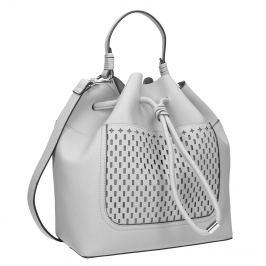 Šedá Bucket Bag kabelka