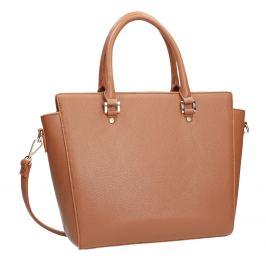 Hnedá kabelka s odnímateľným popruhom