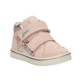Detská dievčenská členková kožená obuv