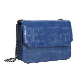 Modrá kabelka so štruktúrou