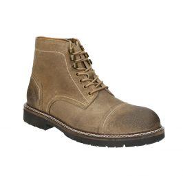Členková kožená obuv