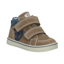 Detská členková kožená obuv