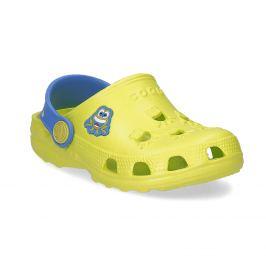 Detské sandále so žabkou