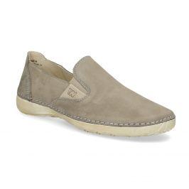 Kožené topánky v štýle Slip-on