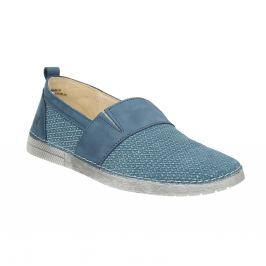 Kožené Slip-on modré