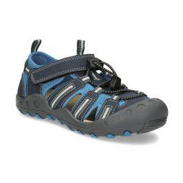 Detské modré sandále
