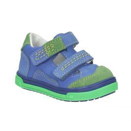 Detská kožená obuv na suchý zips