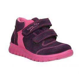 Kožená detská členková obuv