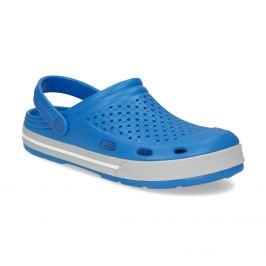 Pánske modré sandále typu Clogs
