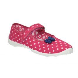 Detská domáca obuv s remienkom cez priehlavok