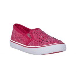 Dievčenské Slip-on obuv s kamienkami