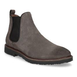 Kožené Chelsea Boots na výraznej podrážke
