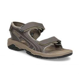 Pánske kožené sandále na suchý zips