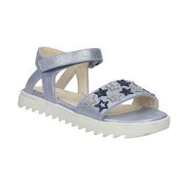 Dievčenské sandále s hviezdičkami