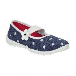 Domáce papuče s hviezdičkami