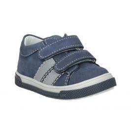 Kožená detská obuv na suchý zips
