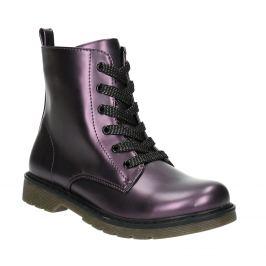 Metalická detská obuv