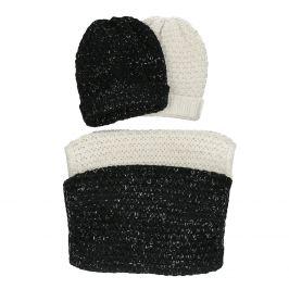 Darčekový set  kruhového šálu a čiapky