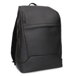 Minimalistický čierny batoh