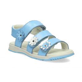 Letné modré dievčenské sandále