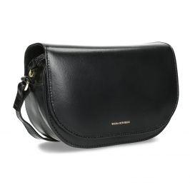 Kožená kabelka s klopou