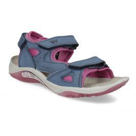 Dievčenské sandále v Outdoor štýle