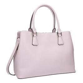 Ružová kabelka s pevnými rúčkami