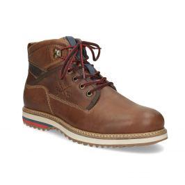 Pánska zimná členková obuv