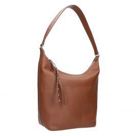 Kožená dámska kabelka