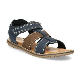 Chlapčenské sandále z kože