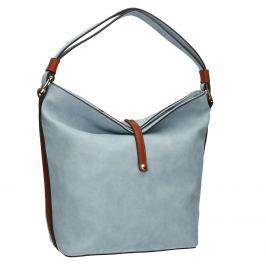 Modrá kabelka v Hobo štýle
