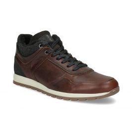 Kožená zimná obuv