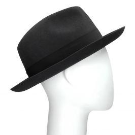 Čierny pánsky klobúk