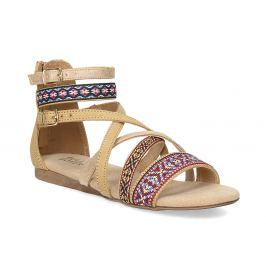Remienkové sandále v Etno štýle