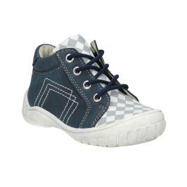 Detská členková obuv so vzorom