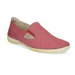 Červené dámske Slip-on