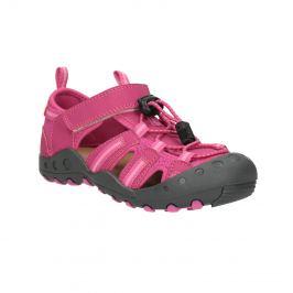 Ružové sandále s výraznou podrážkou