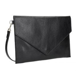 Dámska kožená listová kabelka
