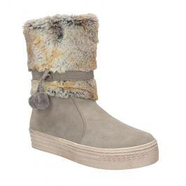 Detské zimné topánky s kožúškom