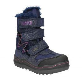 Dievčenská zimná obuv na suchý zips