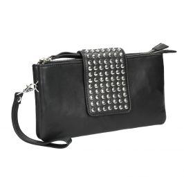 Kožená listová kabelka s dvomi vreckami