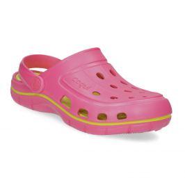 Ružové sandále typu Clogs