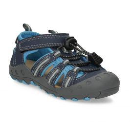 Detské sandále s gumovou špičkou