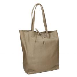 Dámska kožená kabelka s mašľou